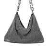 Olga Berg ROSANNA Two Way Crystal Mesh Shoulder Bag Bag