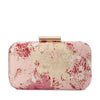 Olga Berg FLORENCE Metallic Jacquard Clutch Bag