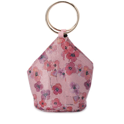 Olga Berg ALEXA Floral Mesh Handle Bag Bag