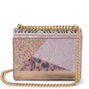 Olga Berg DUSTY Glitter Acrylic Shoulder Bag