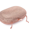 ACE Crystal Oval Clutch