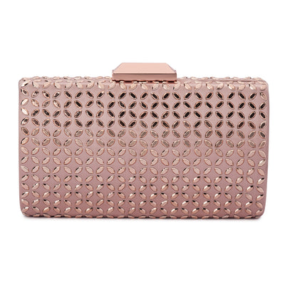 KAYLEE Diamond Hot Fix Clutch