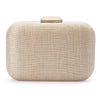 HAILEY Metallic Woven Clutch