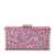 JORDANA Glitter and Suede Clutch