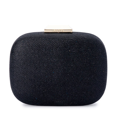 MISTY Metallic Rounded Clutch Olga Berg Bag