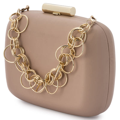 STELLA Ring Chain Clutch-Bag-Olga Berg