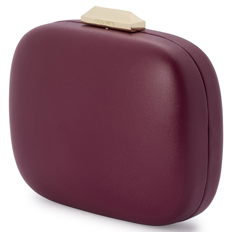 Olga Berg GRETA Rounded Clutch Bag