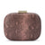 PAYTON Snake Print Rounded Clutch - Sample