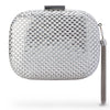 Olga Berg ELLIANA Textured Hotfix Clutch
