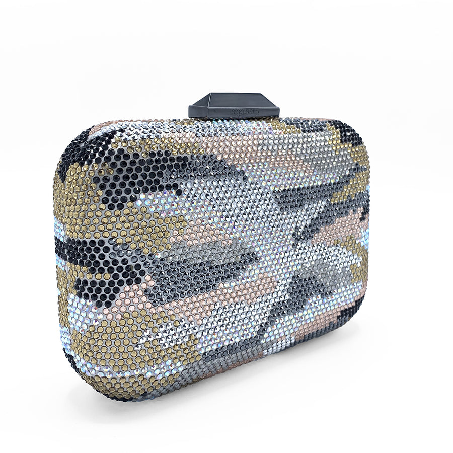 CARLA Camo Hotfix Clutch - Sample