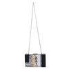 Dakota Lightening Acrylic Glitter Clutch Chain View