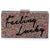 Feeling Lucky Acrylic Clutch