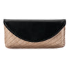 HADLEY Two Tone Foldover Clutch