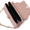 Mckenzie Blush Shoulder Bag Metallic Internal View