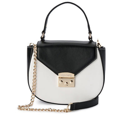 VIRGINIA Two Toned Top Handle-Bag-Olga Berg