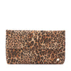 SHEINA Metallic Leopard Fold Over Clutch-Bag-Olga Berg