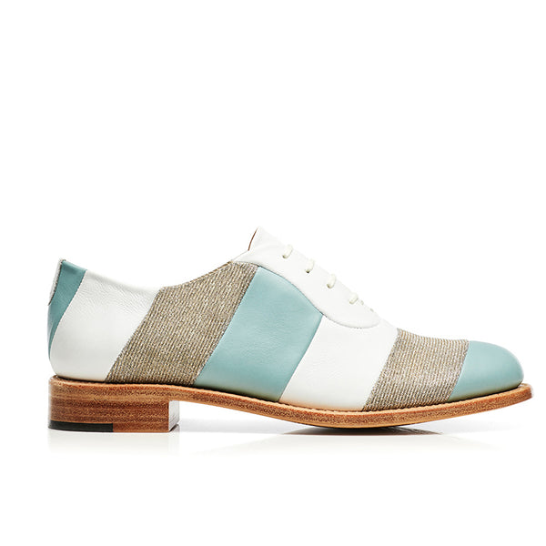 Mr. Smith Stitched Striped Oxford