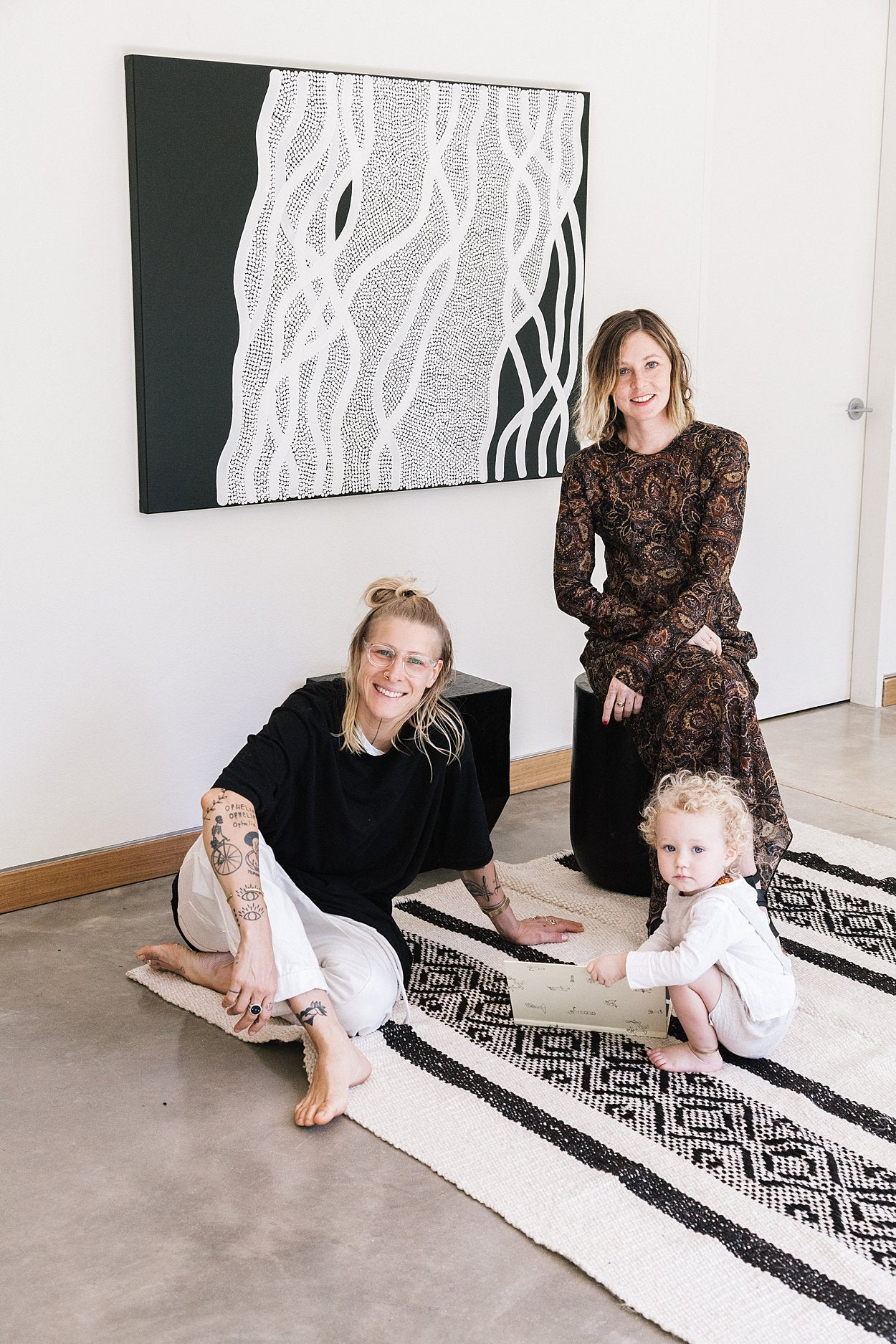 362aa0dca Between floor-to-ceiling glass windows that frame panoramic views, we took  a tour of the family home and spoke with Lia-Belle and Lotte about their  thriving ...