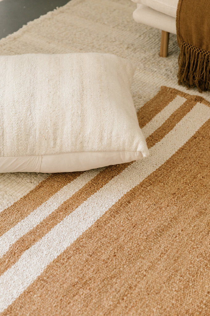 Puna Floor Cushion #1 | Natural