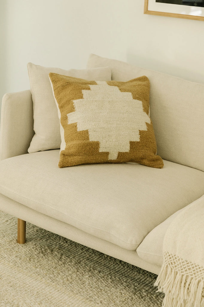 Puna Cushion #3 | Seagrass & Natural
