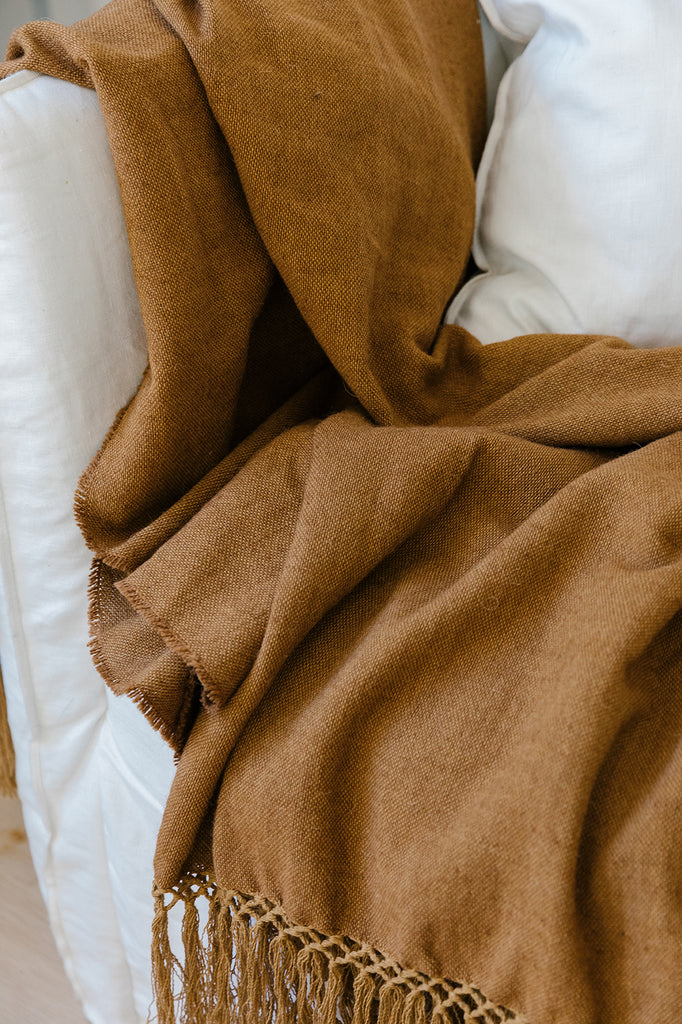 Puna Blanket | Copper