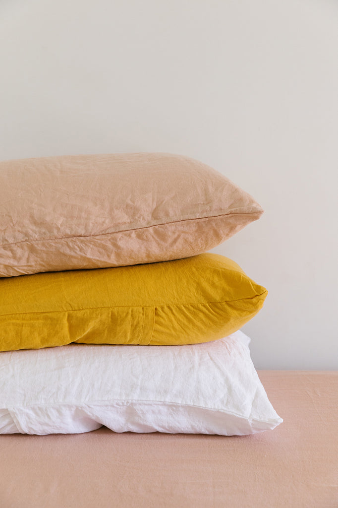 Linen Pillow Slip Set | Clay