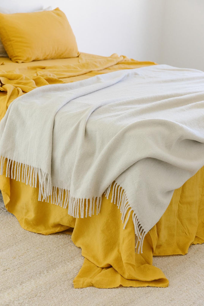 Puna Throw | Natural White