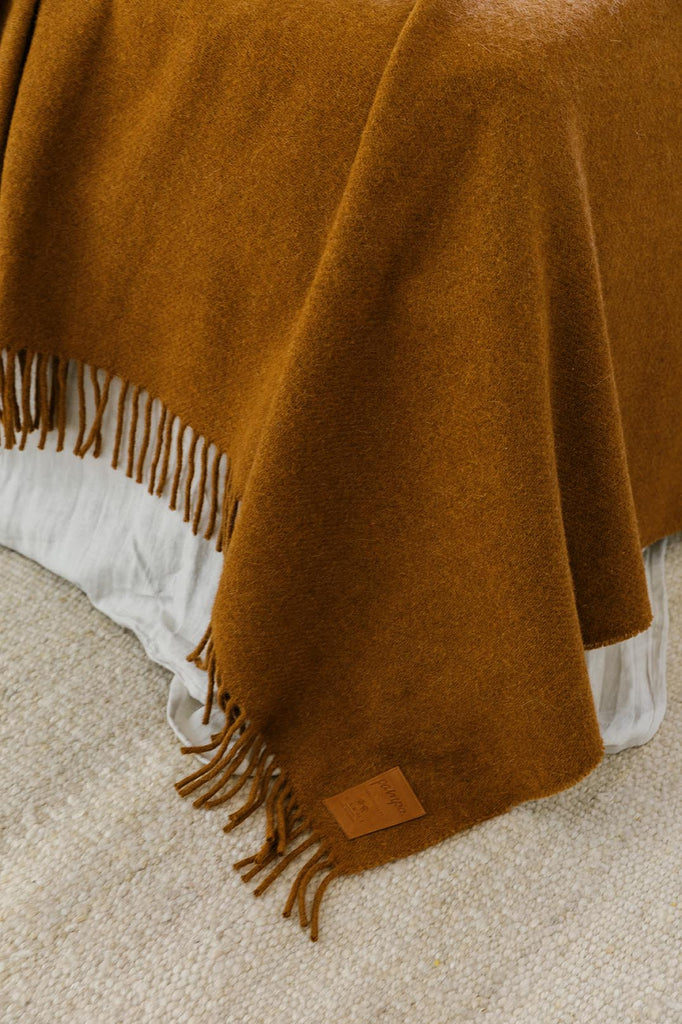 Puna Throw | Tobacco