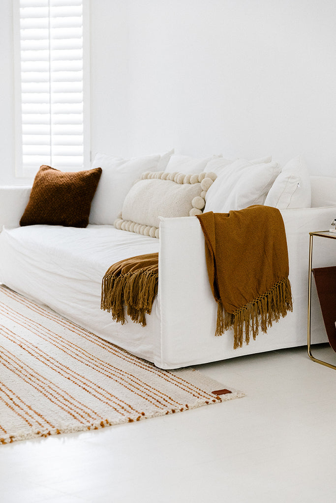 Puna Blend Throw | Copper