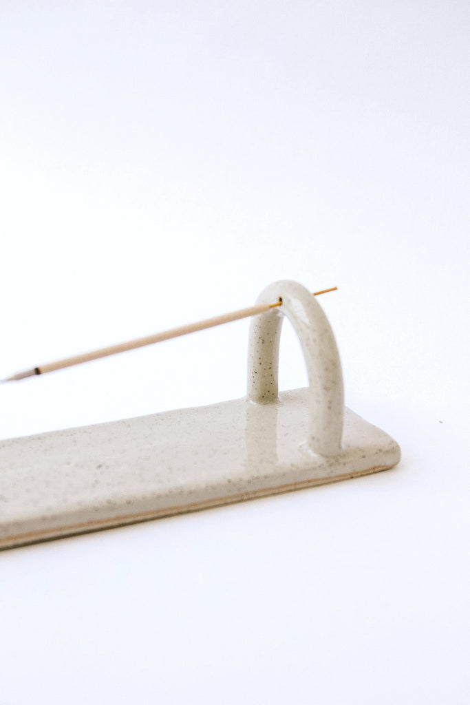 Bend Incense Burner | Stone