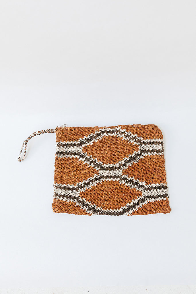 Litoral Woven Clutch #0460