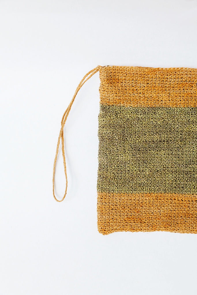Litoral Woven Clutch #0464
