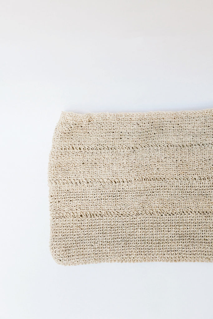 Litoral Woven Clutch #0472
