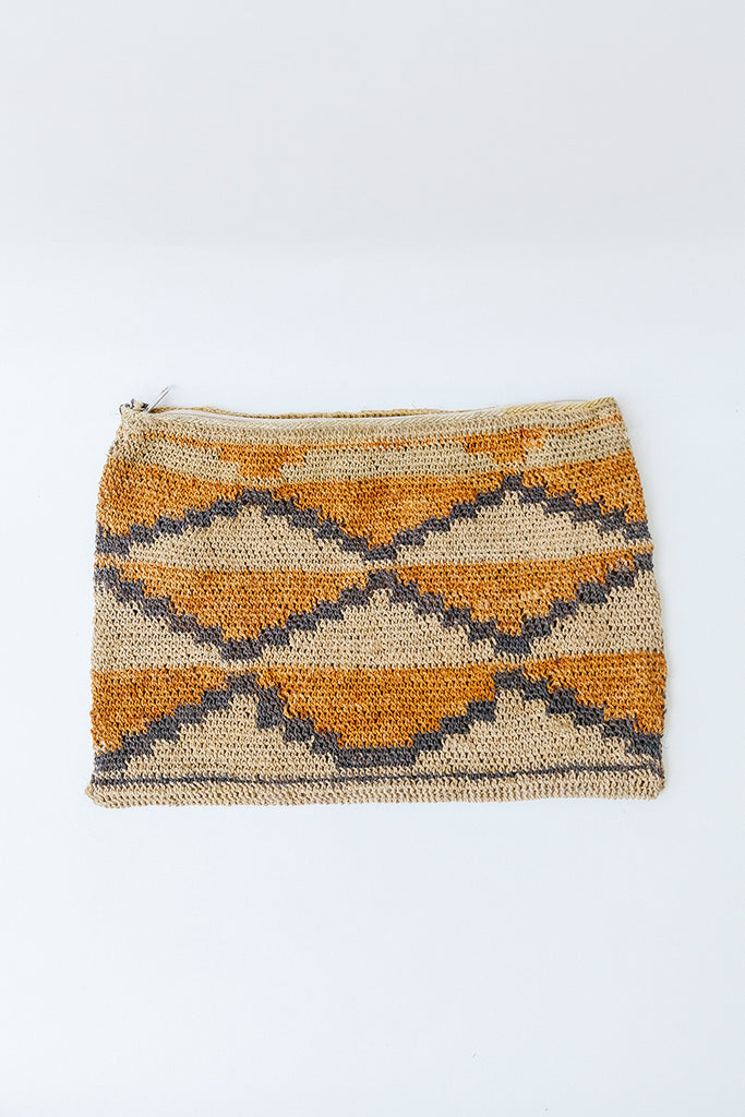 Litoral Woven Clutch #0477