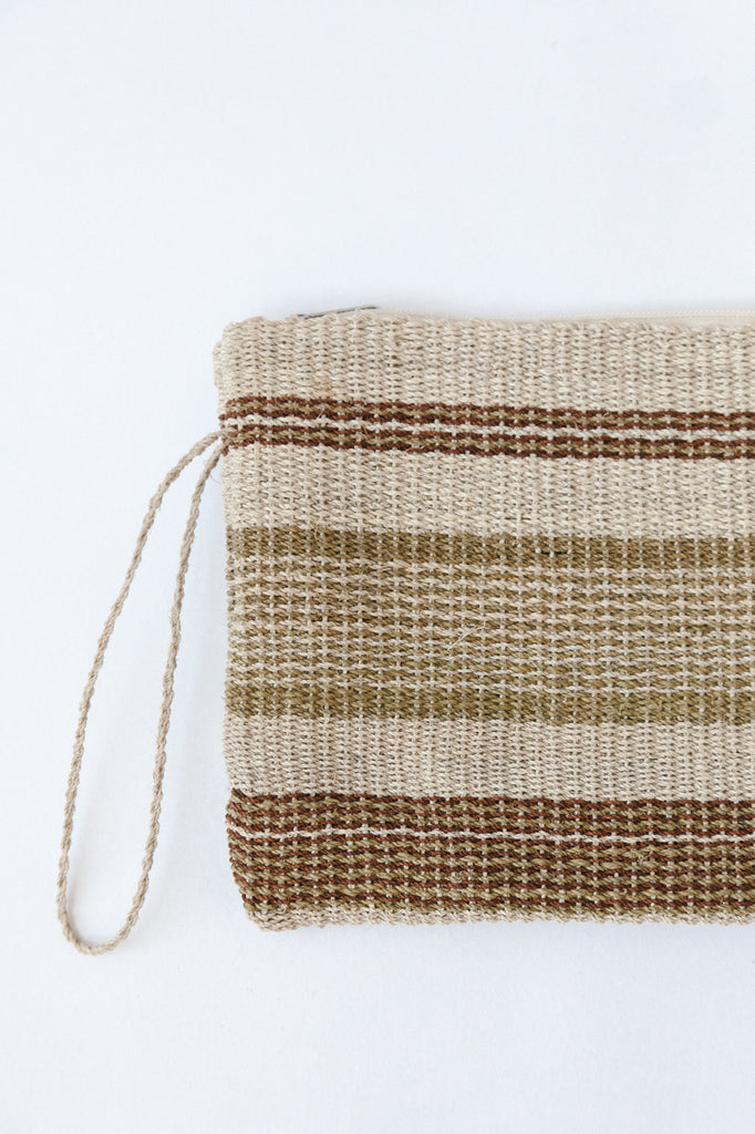 Litoral Woven Clutch #01845