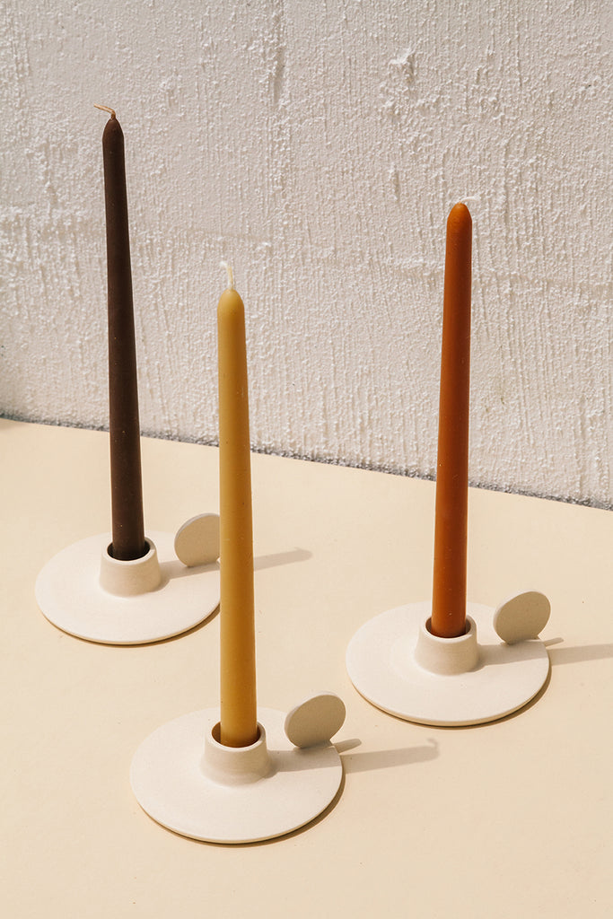 Taper Candle | Terracotta