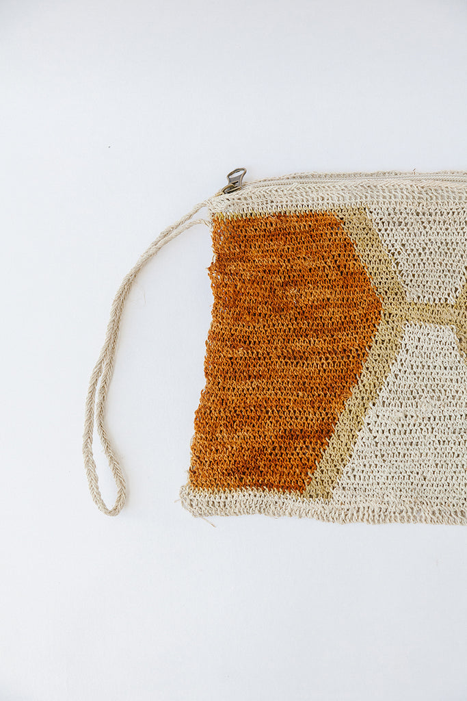Litoral Woven Clutch #0483