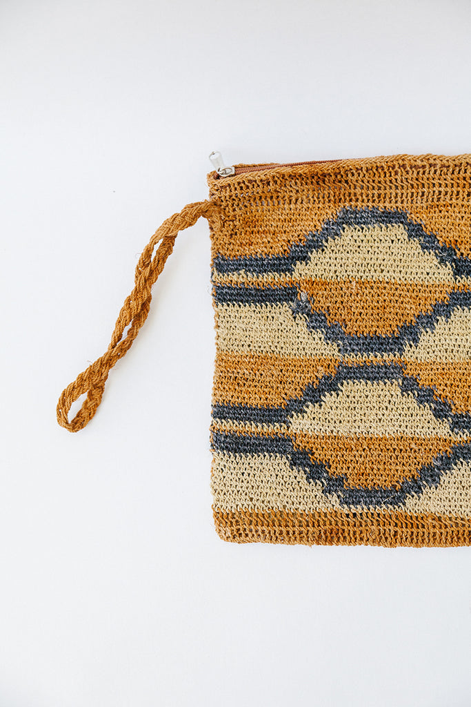 Litoral Woven Clutch #0479
