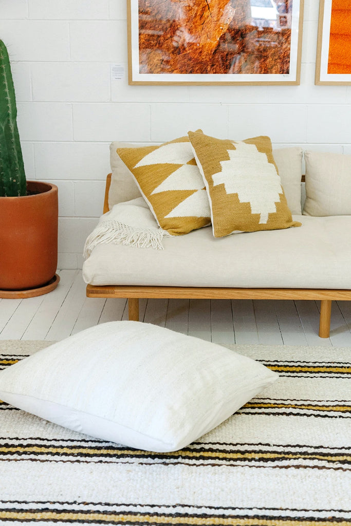 Puna Cushion #2 | Seagrass & Natural