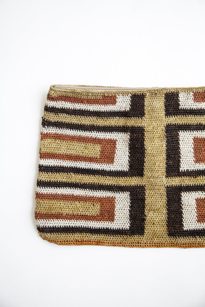 Litoral Woven Clutch #0377