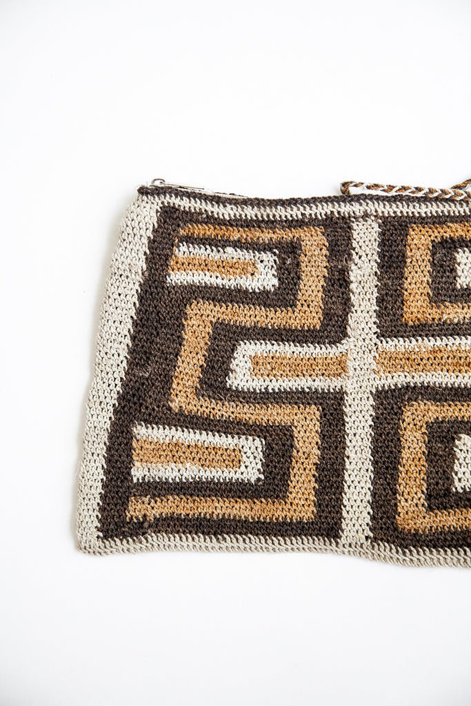 Litoral Woven Clutch #0383