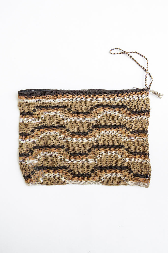 Litoral Woven Clutch #0388