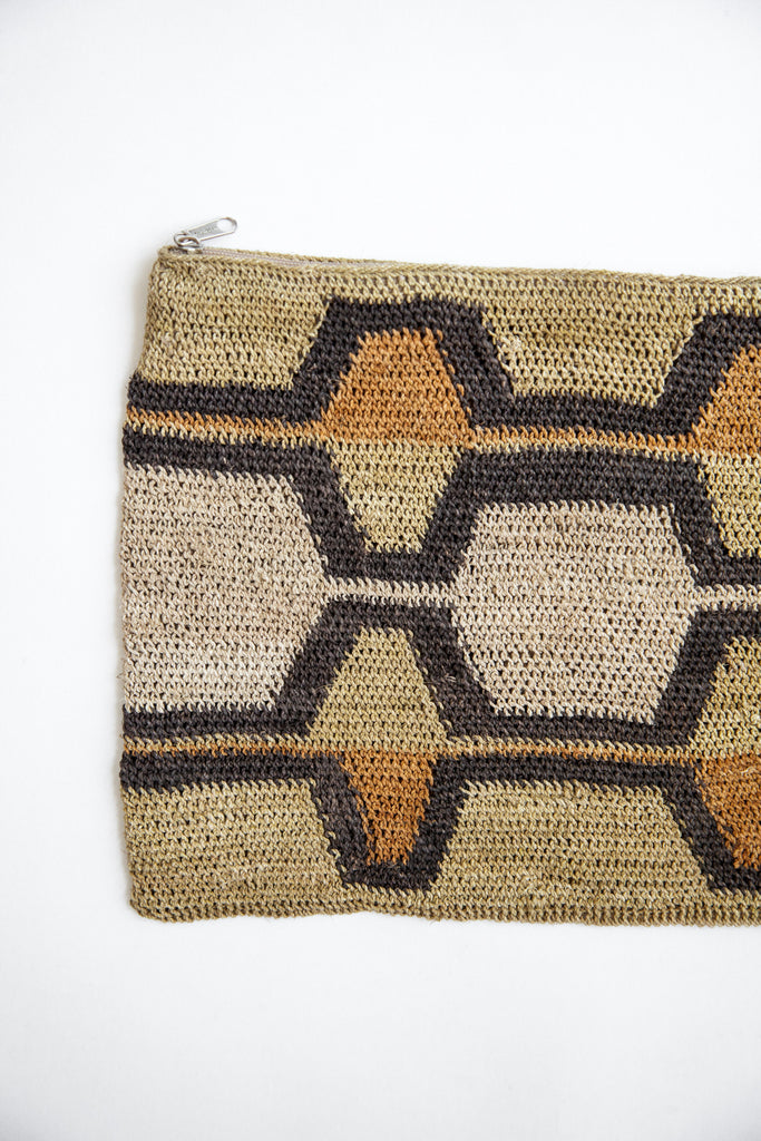 Litoral Woven Clutch #0390