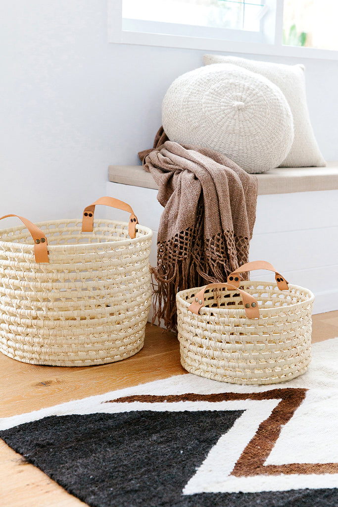 Litoral Palm Basket #3