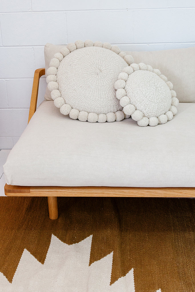 Monte Pom Pom Cushion #1 | Mini