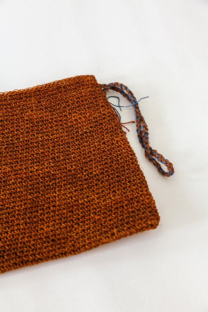 Litoral Woven clutch #0454