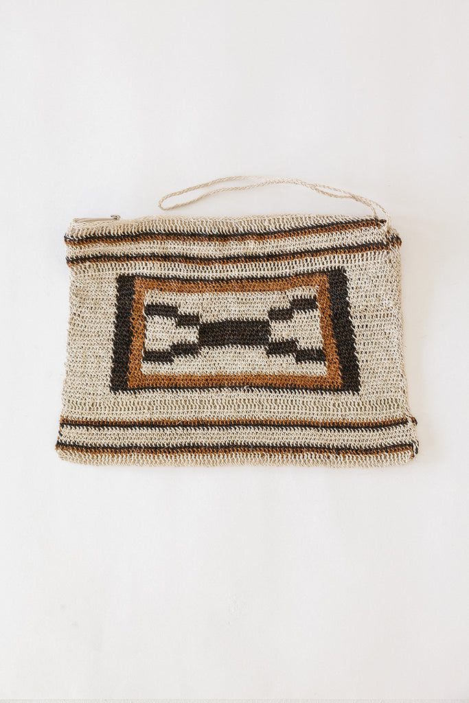 Litoral Woven Clutch #0455