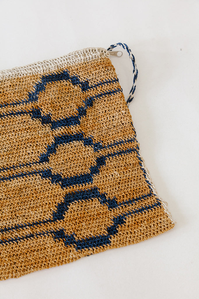 Litoral Woven Clutch #0457