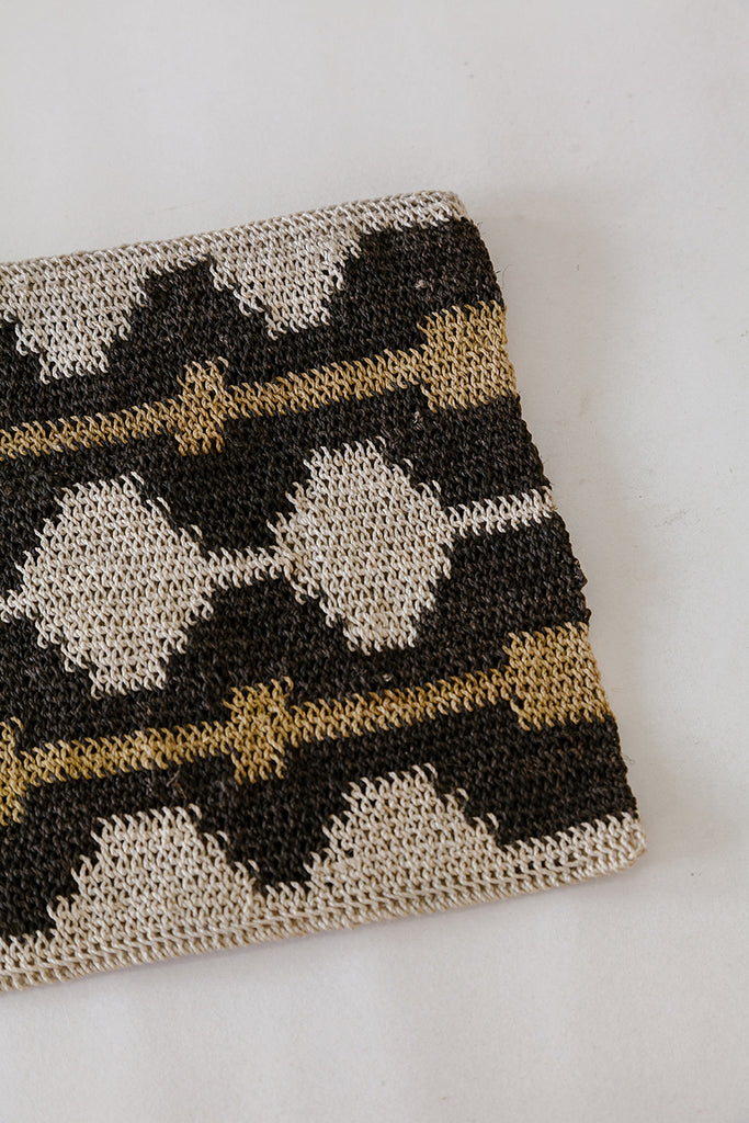 Litoral Woven Clutch #0386