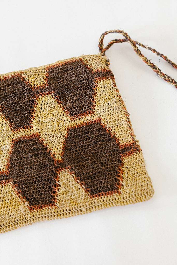 Litoral Woven Clutch #0391